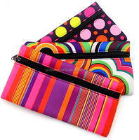 High quality waterproof zipper neoprene pencil case for girl
