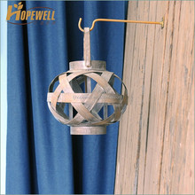 decoration round wood lantern , small outdoor tree lantern