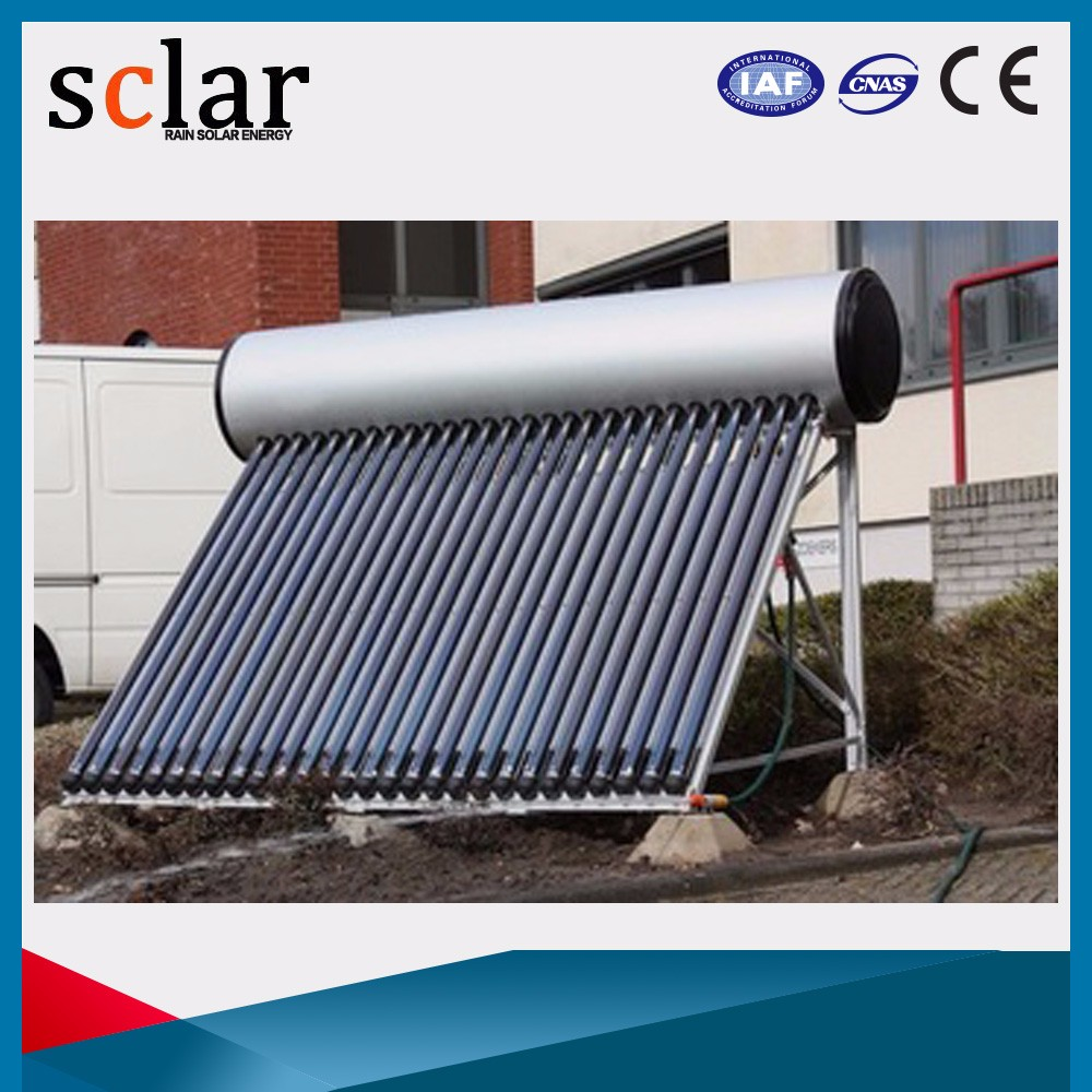 Long life quality assured home solar hot water heater systems