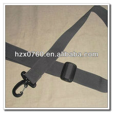 polyester belt bags women with plastic buckle