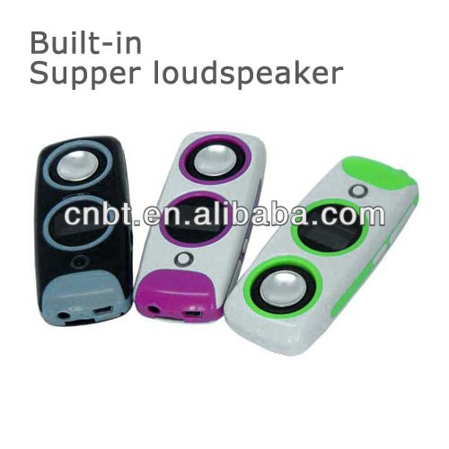 promotional mini mp3 mp4 high quality With Super Speaker MP3 Series