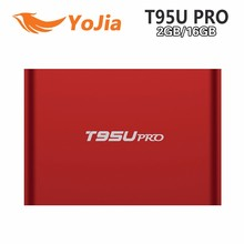 Factory Price T95U Pro Android TV Box Amlogic S912 Octa Core 2G/16G 4K Full HD Media Player