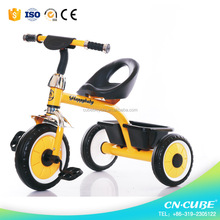 2017 Hot selling Best Safety Cheap Price Kids Push Trike Children Tricycle for Baby, Metal Frame, EVA / Air tyre Baby Tricycle