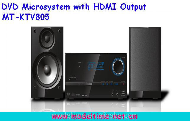 2.0CH Micro DVD Hifi System with LED Display