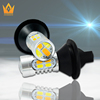 Dual Colors White and Amber 20W LED Turn Light and Fog Light all in one for Car