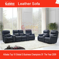 Theatre Design Electric Leather Sofa Recliner EA102#