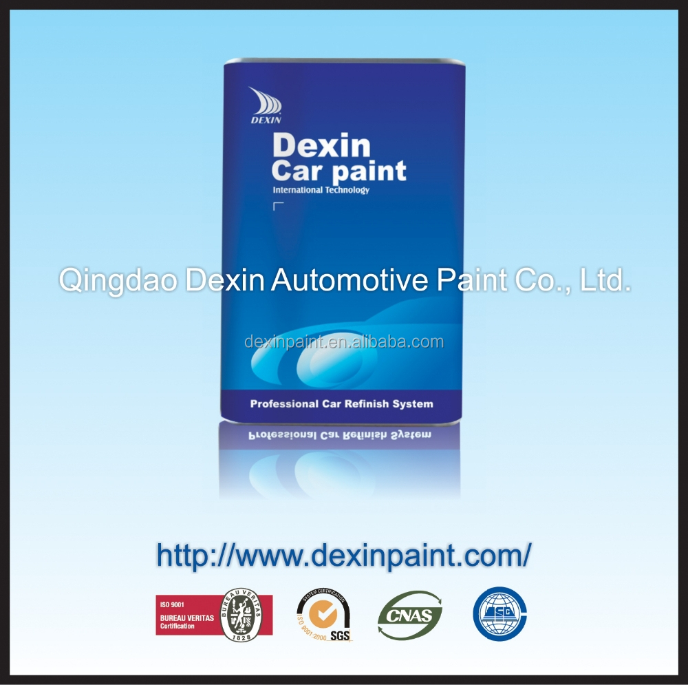 Auto paint epoxy resin hardener