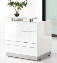 2017 the top sale small white salon reception counter BG-004