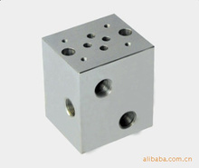 Parallel circuit normal flow Hydraulic block valve