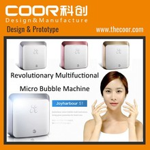 new product industrial design of Micro bubble machine COOR