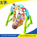 Newest colorful plastic train baby gym shelf