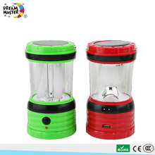 Wholesale Outdoor Portable LED Solar Tent Lantern Camping Light