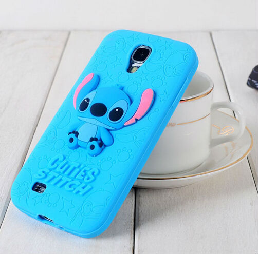 alibaba china supplier mobile phone accessory custom for samsung galaxy s4 animal shaped silicone case