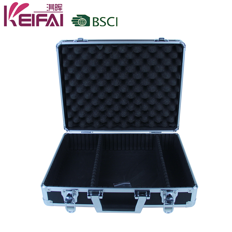 Derogate Protective Rugged PVC Equipment Aluminum Case