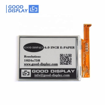 E goodisplay 6 inch e-ink large display screen 1024*758 for ebook reader