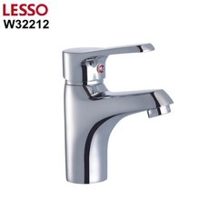 W32212 china LESSO high quality and long service time chrome brass faucet