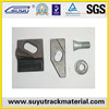 Railway materials QT500-7 cast iron clamp plates for sales
