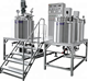 Cosmetic Vacuum Homogenizing Emulsifying Machine Detergent Production Vacuum Emulsifying Mixing Machine for Cream