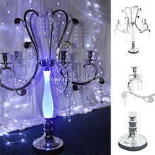 Church Pray Table Decoration Crystal Candle Holder Centerpiece