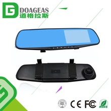 Motion Detection Car Dashboard Camera 4.3inch Screen Vehicles Video Recorder for Front and Rear Dvr