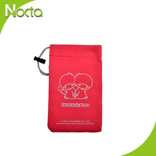 hot sale wholesale drawstring bag for phone and jewerly
