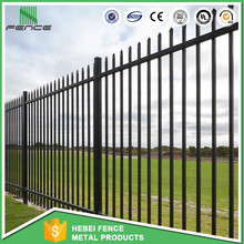 Decorative heavy duty steel fence panels