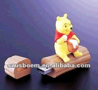 Mini protable cartoon usb memory