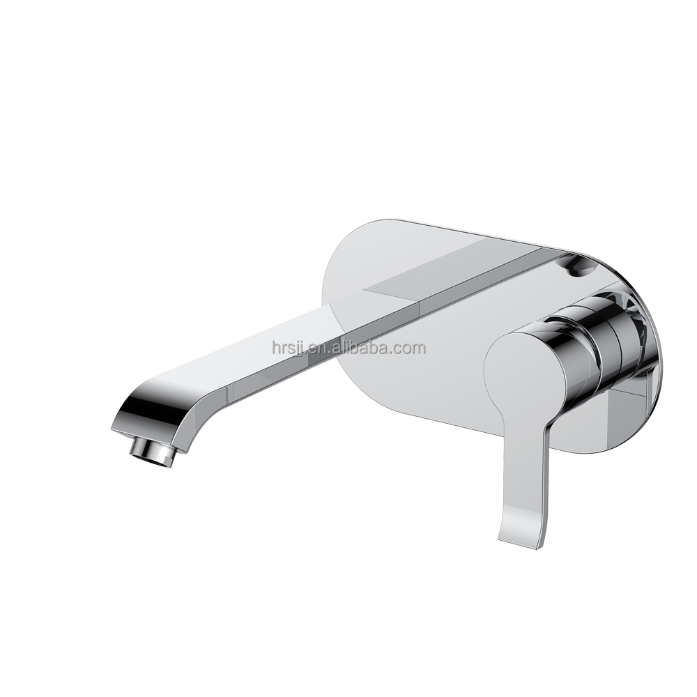 AM-736V000 high quality single handle wall mounted basin mixer