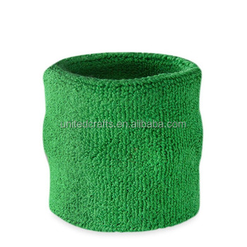elastic cheap Unisex durable Cotton Sweat Wrist Band with free sample