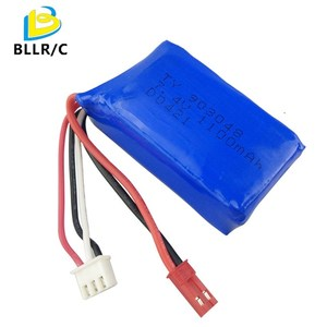 7.4V 1100mAh RC Car Drone Lithium Battery For WLtoys A949 A959 A969 A979 S989 V912 T23 T55 F45