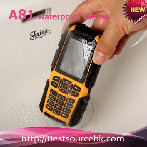 Best Military Grade Rugged Waterproof Crushproof and Dustproof Small Size Mobile Phone