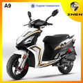 ZNEN MOTOR A9 new model shows its smart and beauty in scooter shop 125cc 150cc for sale.battery powered led light