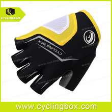 New arrival vogue breathable style design team rival short finger cycling gloves in high quality with dye sublimation