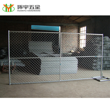 Galvanized used chain link fence panels for sale