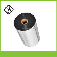 Metallized Film Composition Materials Aluminum Aluminum Coated Glued Plastic Foil