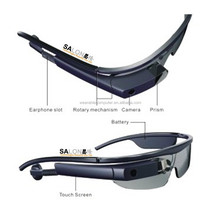 2018 The Latest Android 4.3 OS Smart AR Glasses with 5.0MP Camera