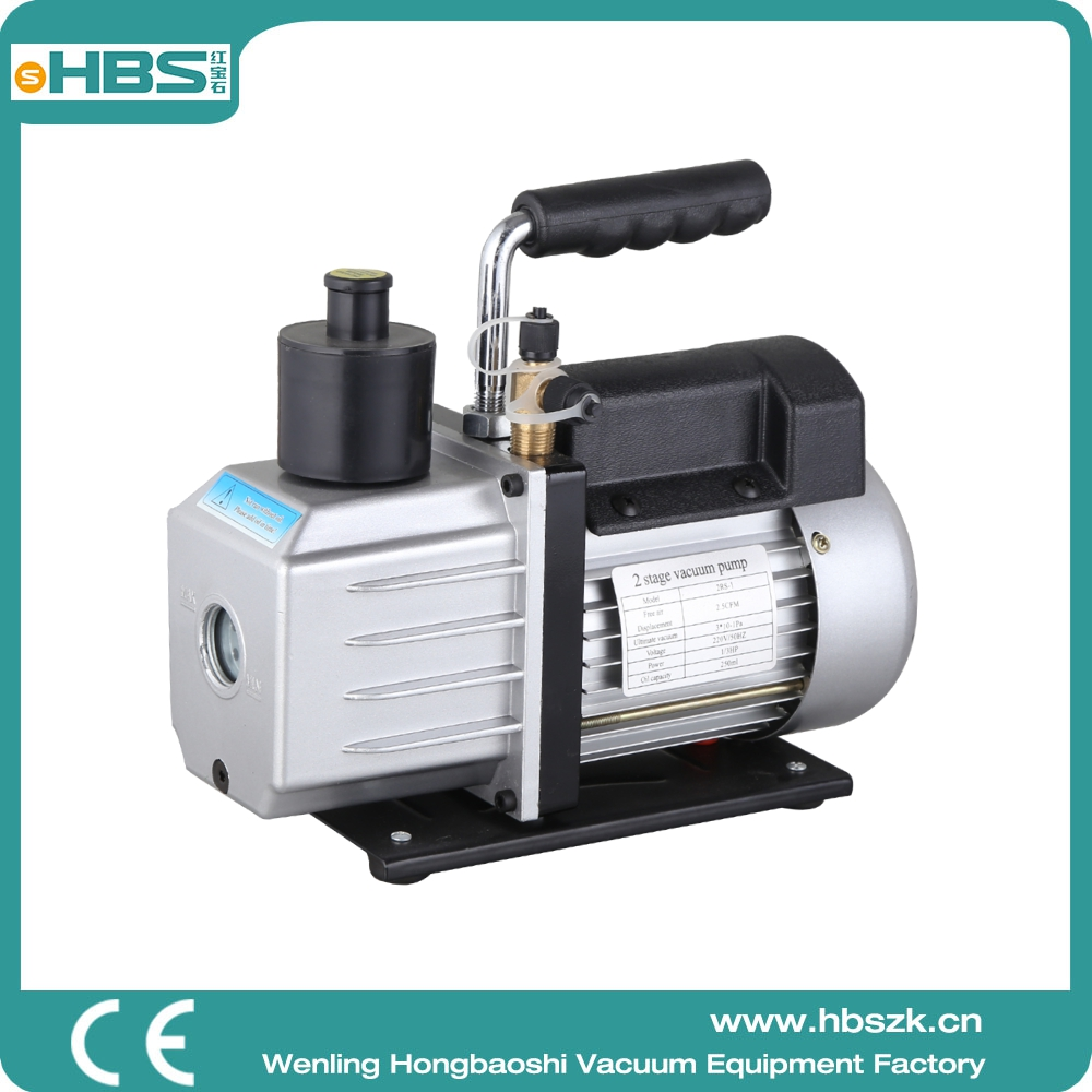 Hot Selling! Chinese vacuum Pump 2 stage 1L 3cfm 2RS-1 manual HAVC 0.3pa auto air and vacuum