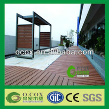Made In China Anti-UV WPC Material WPC Terrace Flooring