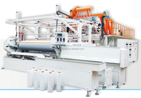 automatic 2000 mm stretch film cast ldpe/lldpe film extruding