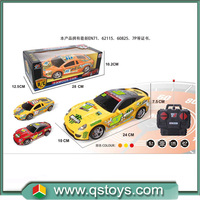 Best sell 1:24 remote control toys 4 channel wheel police rc car price in China