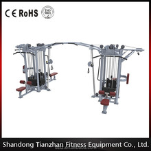 COMMERCIAL 8 STATION MULTI GYM With CABLE CROSSOVER MACHINE