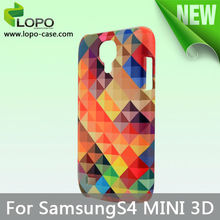 China manufacturer Heat Transfer sublimation 3D phone case for Samsung S4 mini