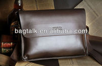 Korean Style Genuine Leather Cheap Business Shoulder Bag For Men