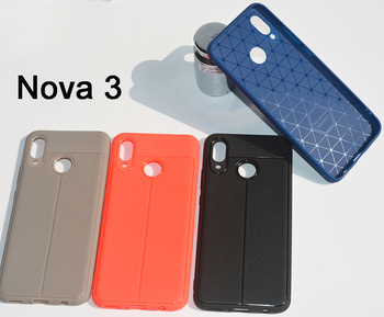 Lichi pattern Soft TPU case cover for Huawei Nova 3
