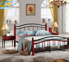 Home furniture steel double decker bed price for sale