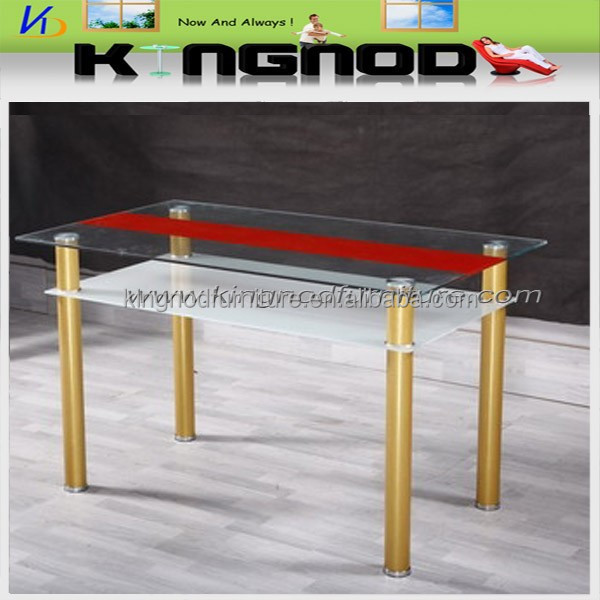 modern glass hotel 12 seater long dining table