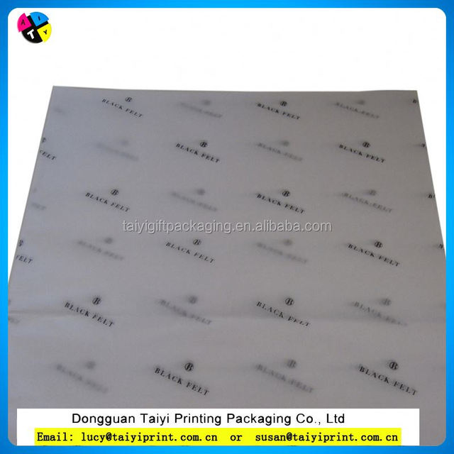 customized printed Custom Sweet Colorful Printed Wrapping Tissue Paper for Packing Clothing