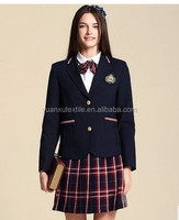 OEM classic school uniforms for girls, kids, children, students, school age big size