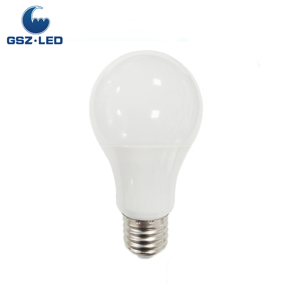 5W High Lumen A60 E27 LED Plastic Indoor Lighting <strong>Bulb</strong>