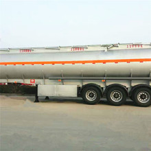 China 40000L food grade tank trailer for milk and fruit juice transport